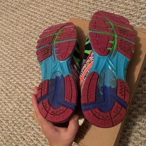 Asics Shoes - Asics gel noosa tri 9  black & neon